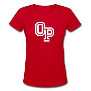 OP - Women's V-Neck T-Shirt