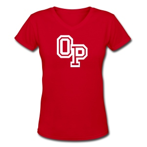 OP - Women's V-Neck T-Shirt