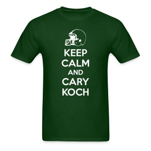 Keep Calm and Cary Koch (Male) - Men's T-Shirt