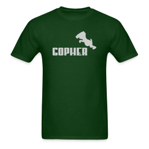 Gopher - Gray (Male) - Men's T-Shirt