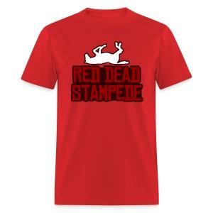 Red Dead Stampede (Male) - Men's T-Shirt