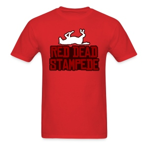Red Dead Stampede (Male) - Men's T-Shirt