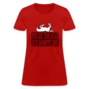 Red Dead Stampede (Female) - Women's T-Shirt