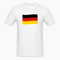 Germany Flag coat of arms Deutschland black red go