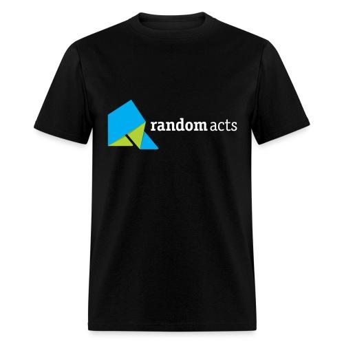 RA Men's Standard Weight T-Shirt (light logo) - Men's T-Shirt