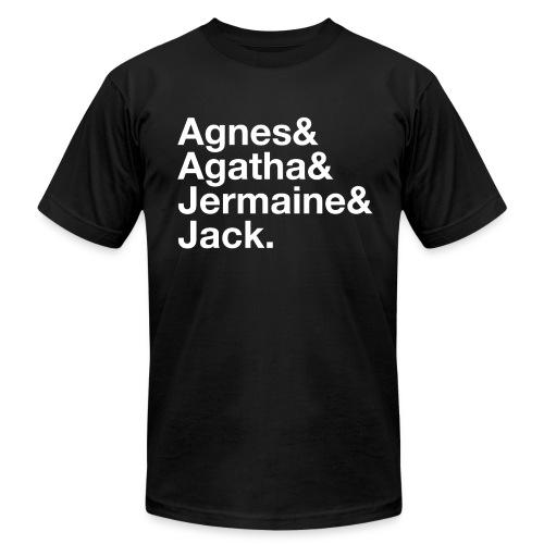 Just a Friend - Men's - Men's Fine Jersey T-Shirt