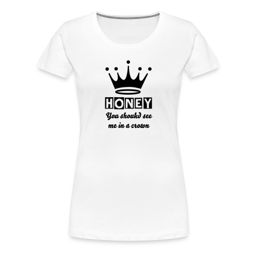 Sherlock quote - Women's Premium T-Shirt