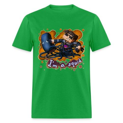 Men's T Shirt: I'M A SQUID! - Men's T-Shirt
