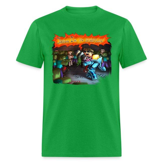Men's T Shirt: STARTLED!