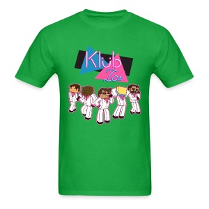 Men's T Shirt: WELCOME TO KLUB ICE! - Men's T-Shirt