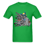 T-Shirts ~ Men's T-Shirt ~ Men's T Shirt: COPS N ROBBERS!