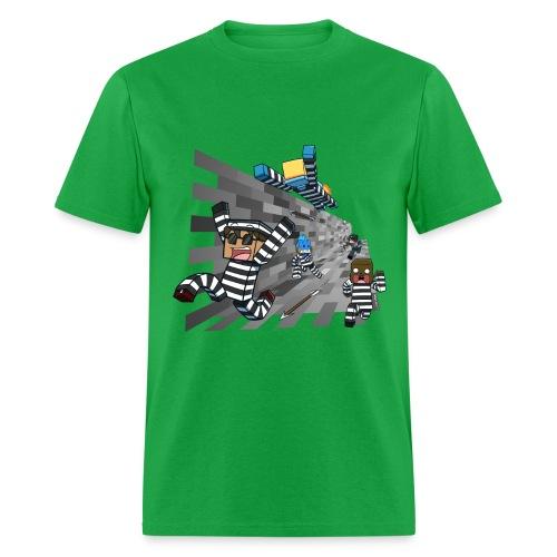 Men's T Shirt: COPS N ROBBERS! - Men's T-Shirt