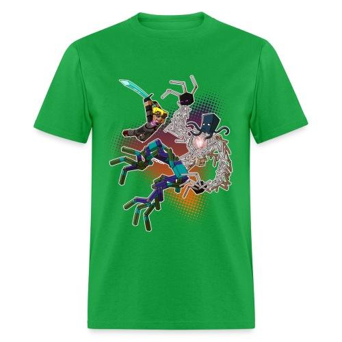 Men's T Shirt: NEW WORLD! - Men's T-Shirt