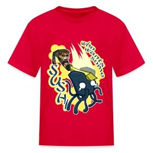 Kid's T Shirt: WHO WANTS SOME SUSHI?! - Kids' T-Shirt