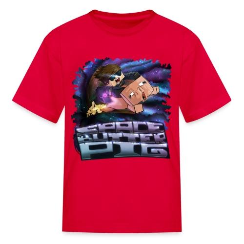 Kid's T Shirt: SPACE BUTTER PIG! - Kids' T-Shirt