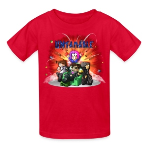 Kid's T Shirt: UNTAMABLE! - Kids' T-Shirt