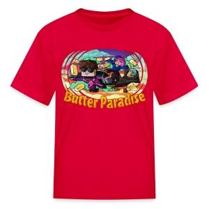 Kid's T Shirt: BUTTER PARADISE! - Kids' T-Shirt