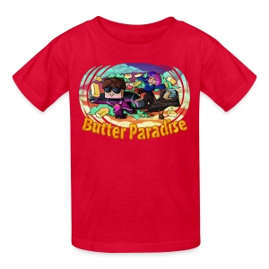 Kid's T Shirt: BUTTER PARADISE! - Kids' T-Shirt