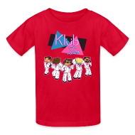Kids' Shirts ~ Kids' T-Shirt ~ Kid's T Shirt: WELCOME TO KLUB ICE!