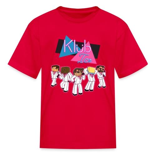 Kid's T Shirt: WELCOME TO KLUB ICE! - Kids' T-Shirt