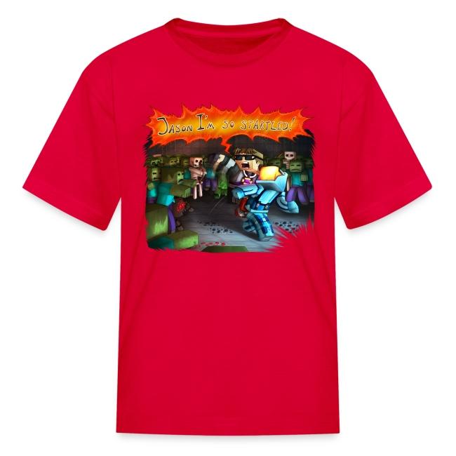 Kid's T Shirt: STARTLED!