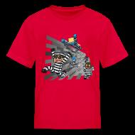 Kids' Shirts ~ Kids' T-Shirt ~ Kid's T Shirt: COPS N ROBBERS!