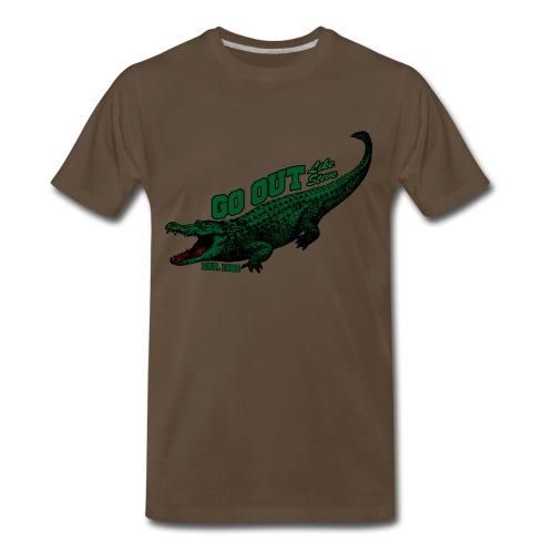 Go Out Like Steve shirt - Men's Premium T-Shirt