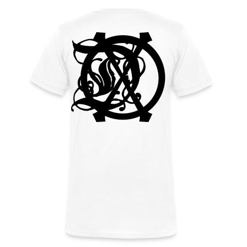 DOX LOGO MEN'S V-NECK - Men's V-Neck T-Shirt by Canvas
