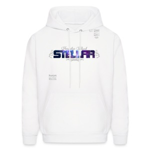 OFFICIAL STELLAR ART SWEATSHIRT (WHITE) - Men's Hoodie