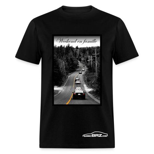Weekend en Famille - QuebecBRZ - Men's T-Shirt