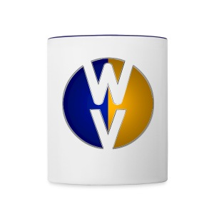 Circle Void WV - Contrast Coffee Mug