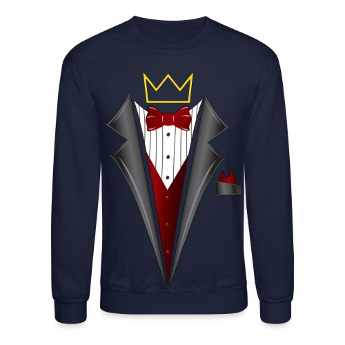 Men's Sweatshirt (Tux) - Crewneck Sweatshirt