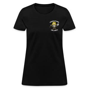 Underground Explorers Black Women's Logo Tee - Women's T-Shirt