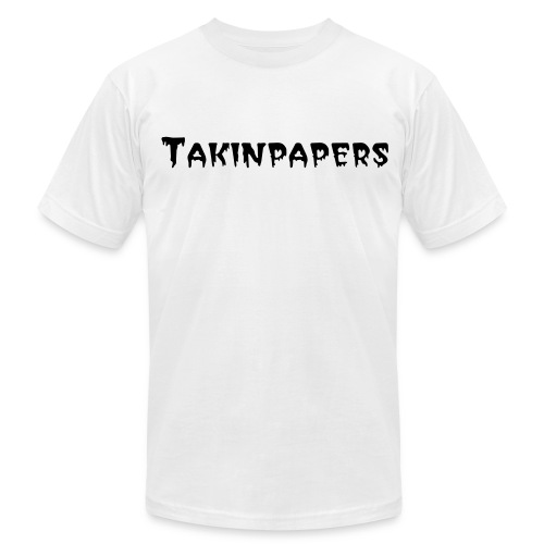 Takinpapers Men's T-Shirt by American Apparel - Men's Fine Jersey T-Shirt