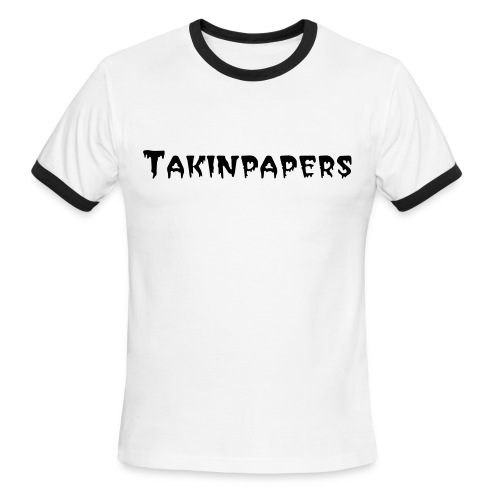 Takinpapers Men's Ringer T-Shirt by American Apparel - Men's Ringer T-Shirt