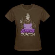 T-Shirts ~ Women's T-Shirt ~ Sassquatch (w)