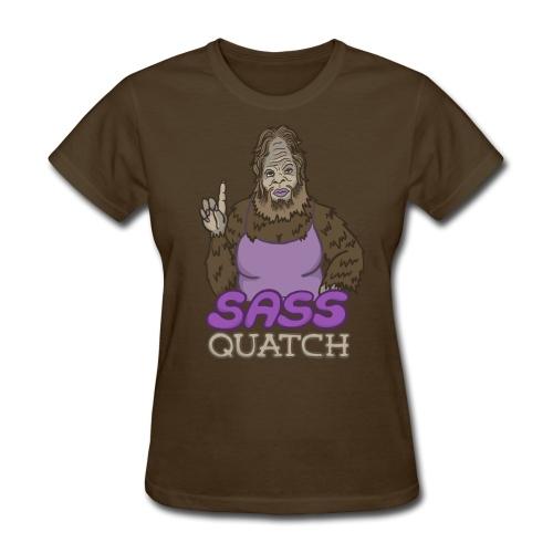 Sassquatch (w) - Women's T-Shirt