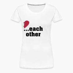 Made for each other - partner shirt Women's T-Shirts