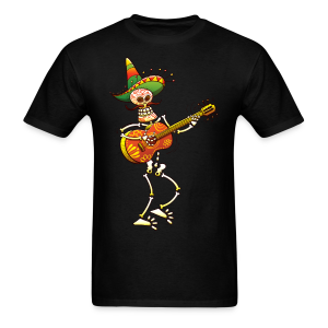 Skeleton Guitarist Men's T-Shirt - Men's T-Shirt