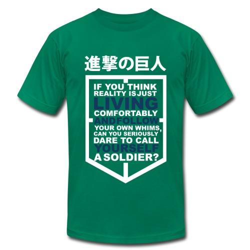 Eren Jaeger Quote - Men's  Jersey T-Shirt