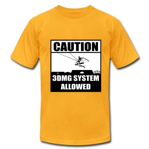3DMG Attack on Titan - Men's Fine Jersey T-Shirt