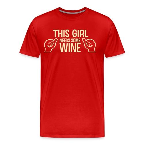 Wine Wasted - Men's Premium T-Shirt