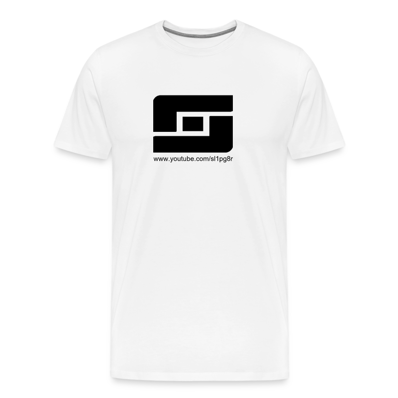 Sl1pg8r Logo Black - Men's Premium T-Shirt
