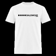 T-Shirts ~ Men's T-Shirt ~ Bald Move - Black Logo