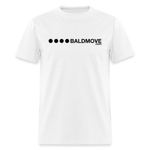 Bald Move - Black Logo - Men's T-Shirt