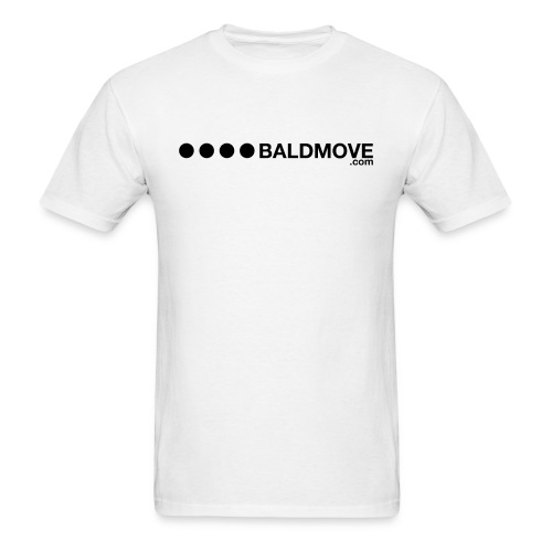 Bald Move - Black Logo - Men's T-Shirt