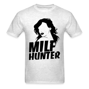 MilfHunter - Black Print - Men's T-Shirt