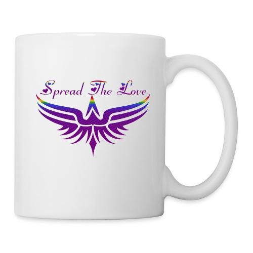 Spread The Love Purple MUG - Coffee/Tea Mug