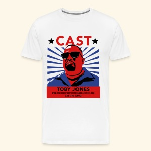 Cast Toby! Fancy-style Mens - Men's Premium T-Shirt