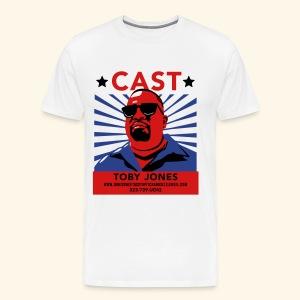 Cast Toby! Fancy-style Mens - Men's Premium T-Shirt